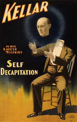 Poster for a magic show